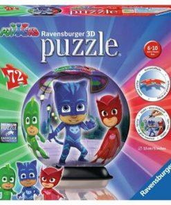 Puzzle 3D - Eroi in pijamale