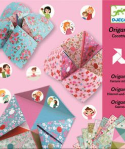 Set Initiere in origami, roz