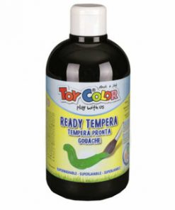 Tempera superlavabila Toy Color, 250 ml, negru