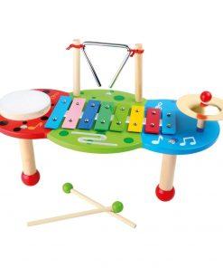 Xilofon din lemn de jucărie Legler Deluxe