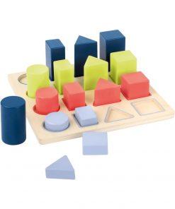 Jucărie din lemn pentru copii Legled Geometry