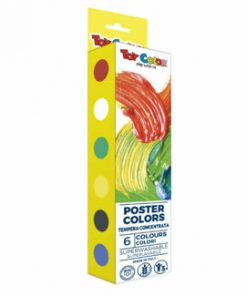 Tempera Toy Color Poster Colors, 25 ml, 6 culori