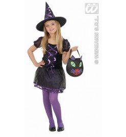 Costum carnaval copii Ribbon Witch