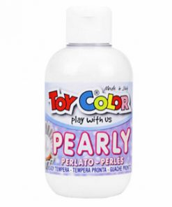 Tempera perlata Toy Color, 250 ml, alb