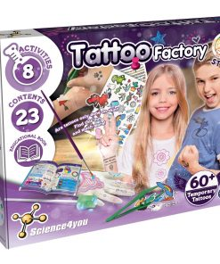 Joc educativ Science4you, Fabrica de tatuaje