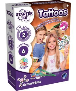 Joc educativ Science4you Starter Kit, Tatuaje
