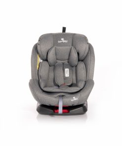 Scaun auto cu isofix Lyra rotativ 360 grade 0-36 kg Grey