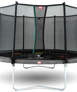 Trambulina Berg Favorit Regular gri Level cu plasa Comfort 430
