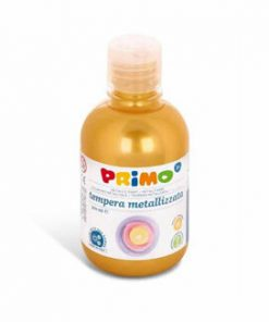 Tempera metalizata Morocolor Primo 300 ml, auriu