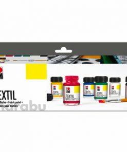 Set Culori Textile, Marabu, 6 x 15 ml