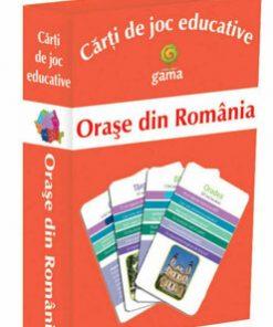 Carti de joc educative -Orase din Romania/***