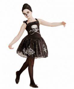 Costum balerina schelet fetita