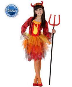 Costum diavolita fetita halloween