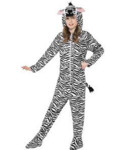 Costum zebra salopeta copii