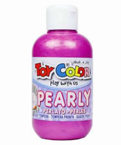 Tempera perlata Toy Color, 250 ml, roz