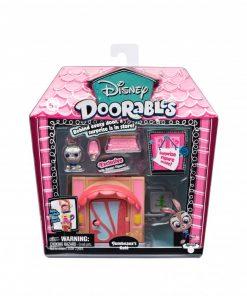 Mini set de constructie Jumbeauxs Cafe Doorables S1, 2 figurine, accesorii incluse