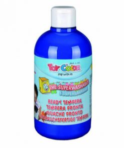 Tempera superlavabila Toy Color, 500 ml, albastru cobalt