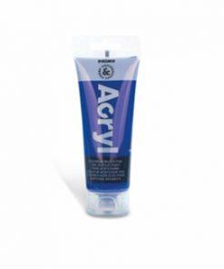 Tempera acrilica Morocolor Primo, 75 ml, albastru cobalt