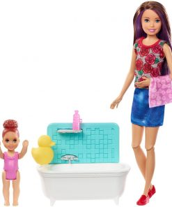 Set Papusa Barbie Family, Facem baita