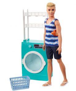 Set de joaca Barbie, Mobilier si papusa Ken FYK52