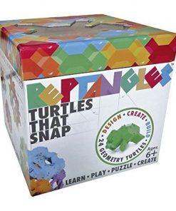 Joc de constructie Testoasele Fat Brain Toys, 24 piese