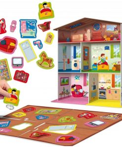 Joc Maxi Montessori Casuta mea Lisciani, 3 ani+, puzzle inclus