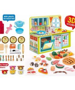 Joc Montessori Micutul bucatar Lisciani, 3 ani+, 28 accesorii