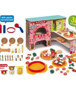 Joc Montessori Pizzeria mea Lisciani, 3 ani+, 25 accesorii
