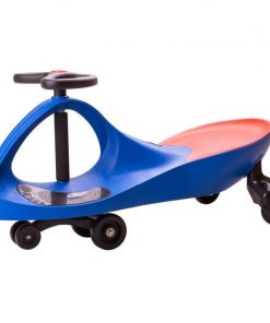 Masinuta fara pedale Didicar, suporta maxim 120 kg, 3 ani+, Albastru