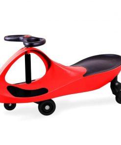 Masinuta fara pedale Didicar, 3 ani+, suporta maxim 120 kg, Rosu