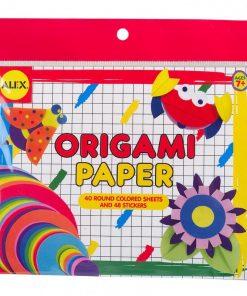 Origami Hartie circulara Alex Toys, 40 de foi