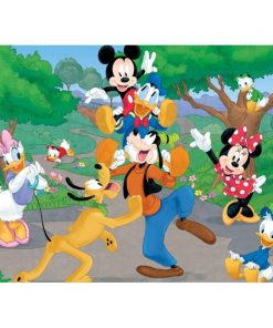 Puzzle Mickey Mouse Lisciani, 60 piese, 3 ani+