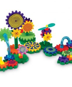 Set de constructie Gears Gizmos Learning Resources, 83 piese, 7 - 11 ani
