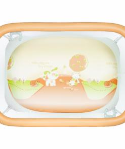 Tarc de joaca Comodo Plebani, compact, portocaliu