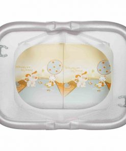 Tarc de joaca Pratico Plebani, suporta maxim 14 kg, margini transparente, 6 luni+