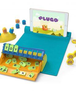 Jucarie educativa Plugo Stem Pack - Count, Letters si Link, Sistem interactiv bazat pe Realitatea Augmentata Shifu Shifu026