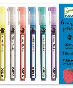 Carioci marker cu sclipici djeco