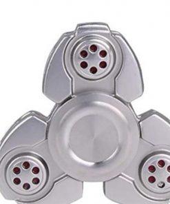 Fidget Spinner Metalic Argintiu
