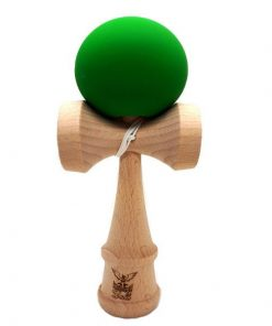 Kendama Ball Originala Lemn Fag Mat Grip Verde