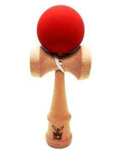 Kendama Ball Originala Lemn Fag Rosu Bordeaux