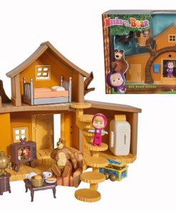 Masha casuta ursului cu 2 etaje, figurine si functiuni