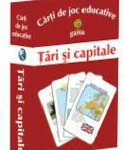 Carti de joc educative - Tari si capitale/***