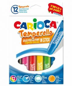 Creioane tempera solida 10g set 12