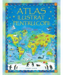 Carte Editura Corint, Atlas ilustrat pentru copii (Usborne), Ruth Brocklehurst