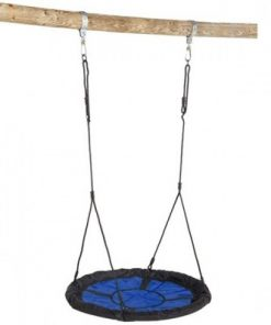 Leagan cuib swibee albastru/negru 4428