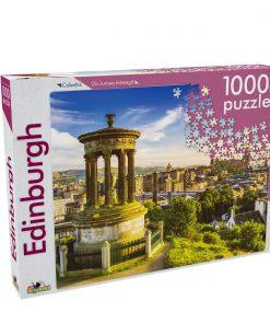 Puzzle Noriel - Din lumea intreaga - Edinburgh, 1000 Piese