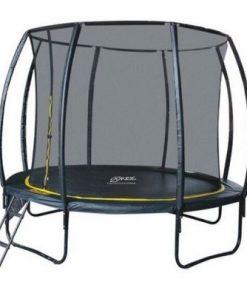 Set trambulina 305 cm cu plasa si scarita Ookee Jump Carbon 4270