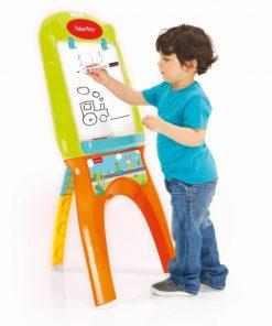 Tabla magnetica pentru copii, 21 de accesorii, 110 x 51 x 70 cm, 3 ani+