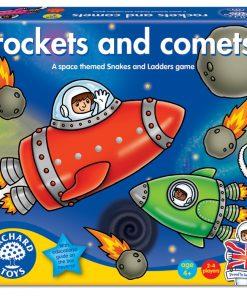 Joc De Societate Rachete Si Comete Rockets And Comets