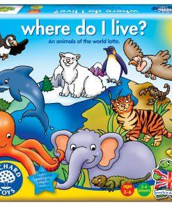 Joc Educativ Loto Habitate Where Do I Live